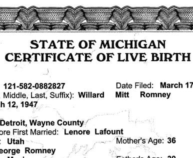 The media\'s birth certificate hypocrisy – World Tribune: Window on ...