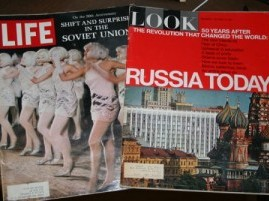 Life and Look magazines herald the 50th Anniver­sary of the USSR, 1967.