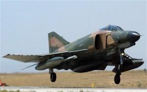 Turkish F-4 Phantom fighter jet.  /EPA