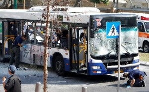 The attempted bus bombing in Bat Yam on Dec. 22 in which disaster was narrowly averted due to alert passengers and prompt action on the part of the bus driver, Israeli officials said.