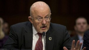 U.S. Director of National Intelligence James Clapper testifies on Capitol Hill in Washington on Jan. 29.  /AP