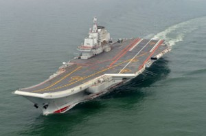 In the 1990s, Ukraine sold China three large-scale ships. Among them was the former Soviet aircraft carrier Varyag.