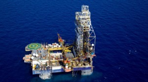Platform in Israel's Tamar gas field