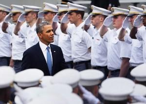 President Barack Obama at West Point.