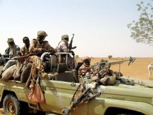 Janjaweed militamen