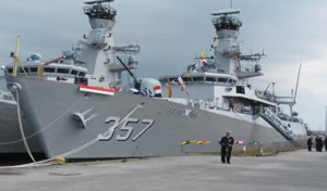 KRIBungTomoNews 2014 07 25 300x176 Indonesia offers to train Saudis in naval operations