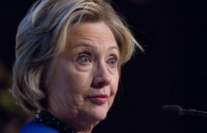"""Hillary Clinton """"does well to be seen but not really heard."""""""
