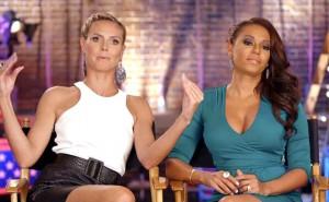 Heidi Klum and Mel B on NBC's America's Got Talent.