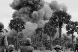 U.S. bombs Cambodia for the first time, Mar 18, 1969.