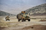 Turkish Kirpi BMC 350 Mine Resistant Ambush Protected (MRAP) Armored Vehicles.