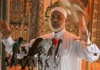 Ismail Haniyeh speaking during Friday prayers on Sept. 5. / Reuters