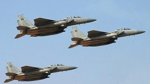 SaudiJets 300x168 Gulf Arab allies ask U.S. to stop talking about their role in war on ISIL