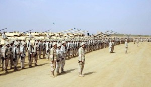 The Saudi military has agreed to train up to 15,000 rebels for the war in Syria.