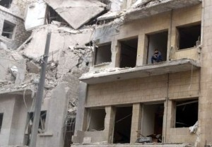 AleppoSiege2 300x208 Syrian rebels buy time, renew fight in Aleppo