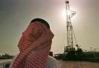 Saudi oil official at rig near Howta, Saudi Arabia. / John Moore / AP