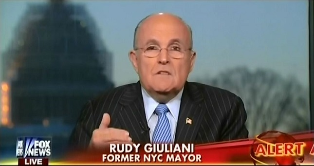 What Giuliani said squares with what Obama has done