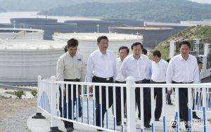 China's Xi Jinping in east Zhejiang province, on May 25, 2015. / Xinhua