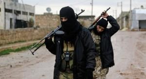 Nusra Front jihadists. /Reuters