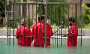 ISIL has previously drowned, burned and exploded prisoners.