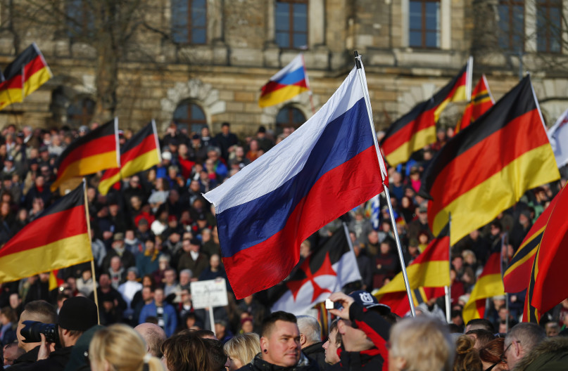 Demonstration by the anti-Islam movement Patriotic Europeans Against the Islamisation of the West. / Hannibal Hanschke / Reuters