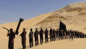 ISIL-affiliated jihadists in Sinai.