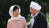 South Korean President Park Geun-Hye, with Iranian President Hassan Rouhani, said the plan is to triple bilateral trade to $18 billion a year.