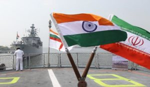 Indian frigates in Iran.
