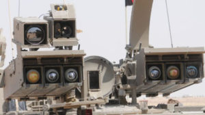 Precision-guided Tammuz missiles mounted on an armored personnel carrier. / IDF photo