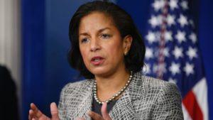 National Security Advisor Susan Rice. /AP