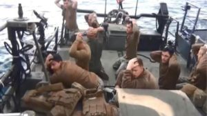US sailors being apprehended by Iran's Revolutionary Guards. /AFP