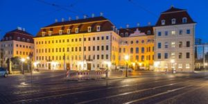 Hotel Kempinski in Dresden.