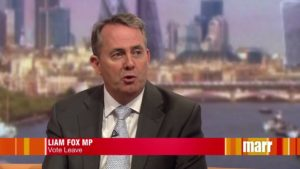 Liam Fox came out early for Brexit. Prime Minister Cameron gambled and lost.