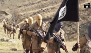 ISIL jihadists in Afghanistan.