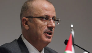 Palestinian Authority Prime Minister Rami Hamdallah. /Reuters
