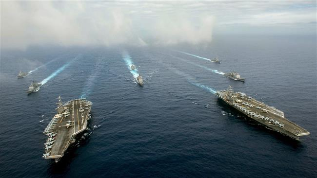 U.S. sends two aircraft carriers to Philippine Sea exercise in Pacific showdown with China
