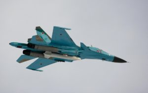 Russian Su-34 bomber. /Getty Images