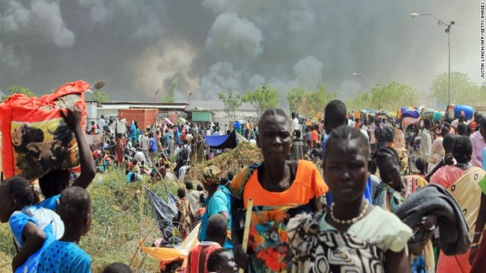 Renewed civil war feared as more than 300 are killed in S. Sudan's capital