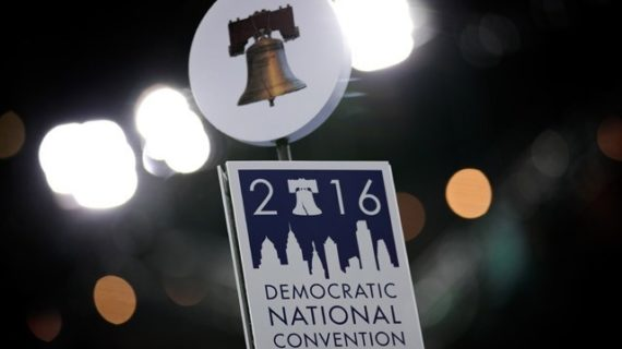 Day 1 inside the DNC bubble: Media awed, ISIL not mentioned even once