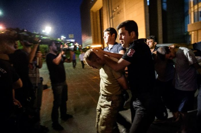 Iran backs Turkey's Erdogan as massive crackdown widens