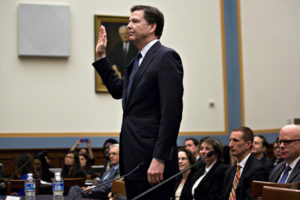 James Comey, director of the Federal Bureau of Investigation / Andrew Harrer / Bloomberg via Getty Images