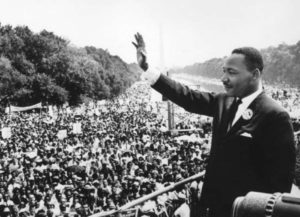 """Dr. King always made it clear that his civil rights and political activities were an extension of his ministry,"" Lewis Baldwin, author of Never to Leave Us Alone: The Prayer Life of Martin Luther King Jr. / Getty"