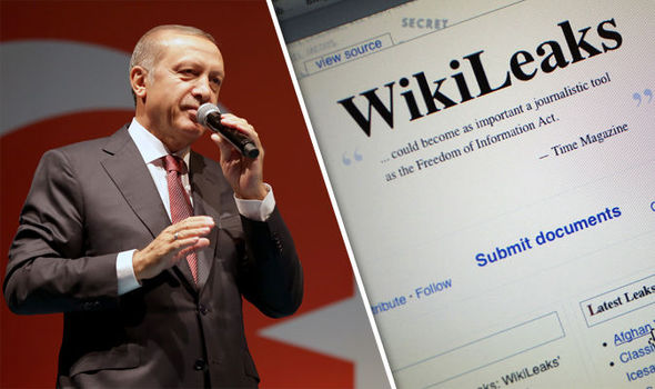 Erdogan blocks WikiLeaks after flood of post-coup documents released