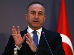Turkish Foreign Minister Mevlut Cavusoglu. /AFP