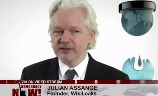 WikiLeaks founder: 'If you act in a corrupt way that benefit Hillary Clinton', she'll take care of you