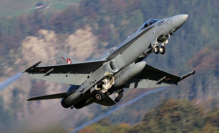 Swiss F-18s escorted Israeli airliner after bomb threat