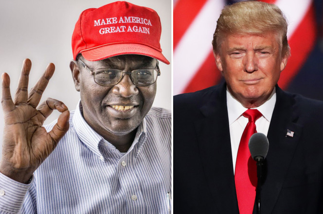 Obama's half brother weighs in: 'Make America great again!'