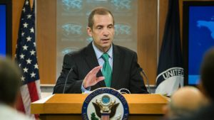 State Department spokesman Mark Toner