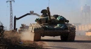 Syrian regime tanks. /AFP