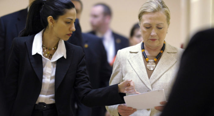Clinton Foundation official and Huma Abedin discussed 'taking care' of top donor