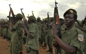 SPLA-IO fighters. /Reuters
